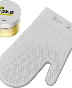 Baseus Auto schoonmaak kit met sticky gel en handschoen
