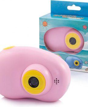 Mini digitale camera voor kinderen - roze  - 2.0 inch HD