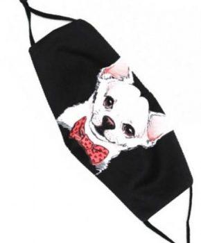 Fashion wasbaar katoenen mondkapje - Chihuahua