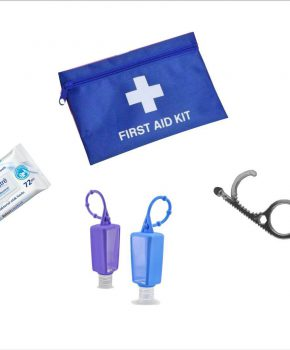 COVID  hygiëne Safety Kit Voor  mannen 82 delige set - 2 pers