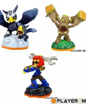 Skylanders Giants Adventure Pack Sprocket, Sonic Boom, Stump Smash