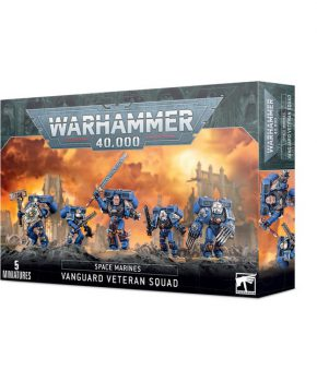 Warhammer 40,000 - Space Marines-  Vanguard Veteran Squad