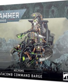 Warhammer 40,000 - Necrons -  Catacomb Command Barge