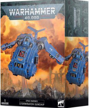 Warhammer 40K - Spacemarines Stormraven Gunship - verzamelfiguur