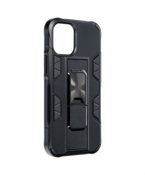 Forcell DEFENDER Case voor IPHONE 12 MINI - zwart