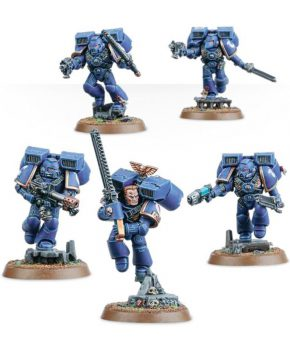 Warhammer 40.000 Space Marines Assault Squad