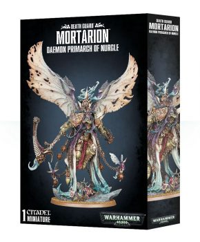 Warhammer 40K Chaos -Death Guard - Mortarion - Daemon Primarch of Nurgle