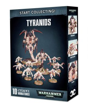 Warhammer 40k-  Tyranids -Start Collecting - verzamelfiguur