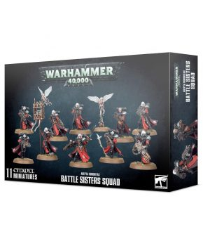 Warhammer 40.000 Adepta Sororitas Battle Sisters Squad