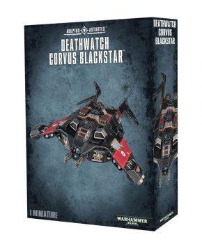 Warhammer 40.000 Deathwatch Corvus Blackstar - verzamelfiguur