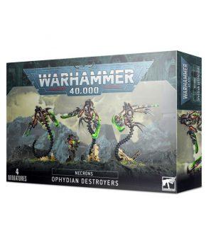 Warhammer 40.000 - Necrons Ophydian Destroyers