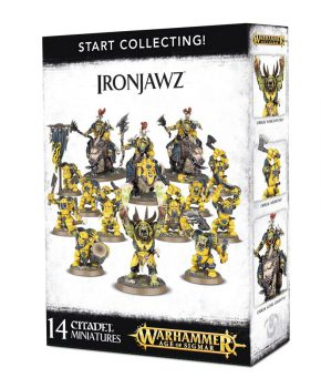 Warhammer 40K - Age of Sigmar - Orruks Ironjawz Start Collecting