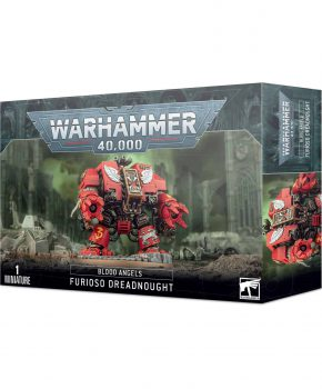 Warhammer 40K- Blood Angels Furioso Dreadnought - verzamelfiguur