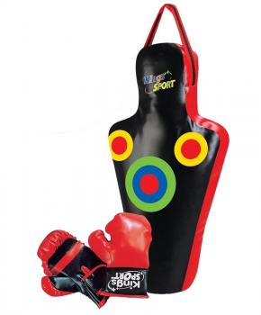Junior boksset Enero dummy 59.5x17x34.5cm met handschoenen