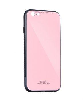 Glazen case voor IPHONE IPHONE 12 MINI - roze