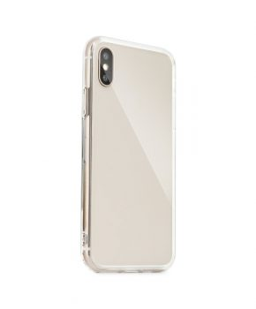 Glazen case voor IPHONE IPHONE 12 / 12 PRO - transparant