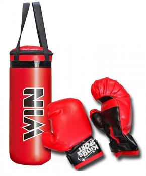 Junior boksset Enero, zak 22,5 x 15 x 38,5 cm en handschoenen - geluid