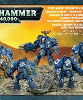 warhammer 40K - Space Marines Terminator Assault Squad