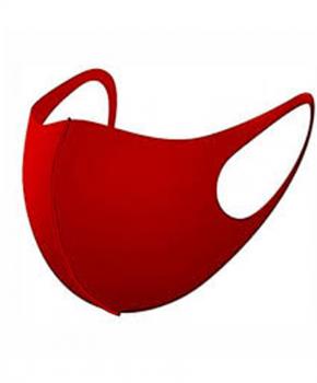 Ice Silk mondmasker - wasbaar - elastisch - klasse A - rood