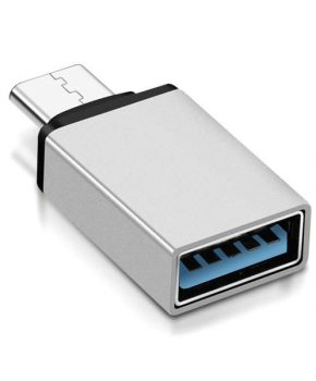 USB Type-C naar USB 3.0 Adapter - zilver