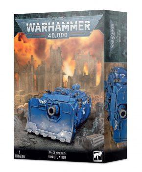 Warhammer 40k - Space Marine Vindicator - verzamelfiguur