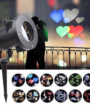 Party led projector - 22 motieven - Kerst - verjaardag  etc.