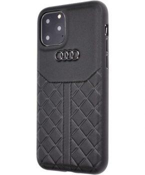 Originele AUDI Lederen Case voor iPhone 11 Pro zwart