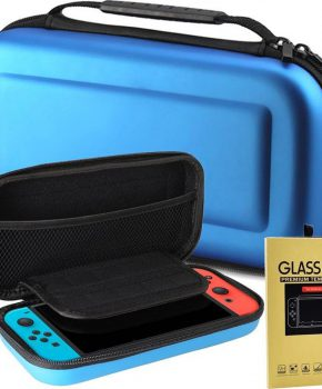 Voor NINTENDO Switch Compatible Console etui - blauw