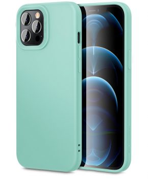 ESR - Telefoonhoesje - iPhone 12 Pro Max - Cloud - Mintgroen
