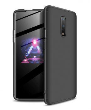 360 graden full body case voor de OnePlus 7 - zwart