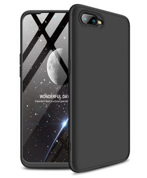 360 graden full body case voor de Oppo RX17 Neo - zwart