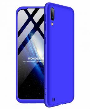 360 graden full body case voor de Samsung Galaxy M10 - blauw