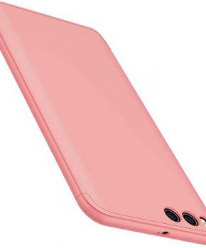 360 full body voor en achterkant hoesje voor Xiaomi Mi 6 - roze