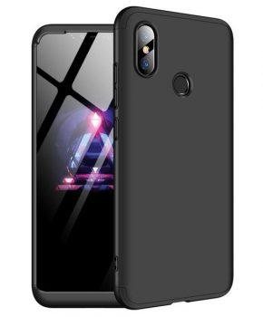 360 graden full body hoesje voor Xiaomi Mi 8 SE - zwart