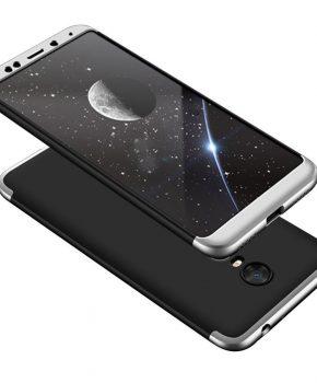 hoesje voor Xiaomi Redmi 5 Plus / Note 5 (single cam) - zwart / zilver