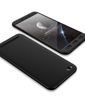 360 full body beschermend hoesje voor Xiaomi Redmi 5A - zwart