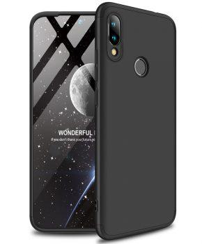 360 graden full body case voor de Xiaomi Redmi Go - zwart