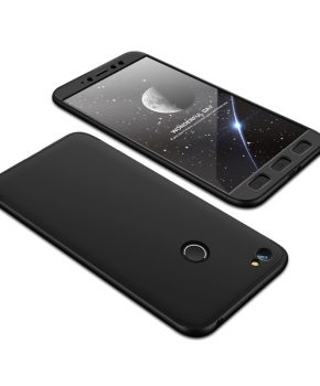 360 full body hoesje voor Xiaomi Redmi Note 5A Prime - zwart