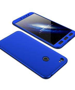 360 full body hoesje voor Xiaomi Redmi Note 5A Prime - blauw