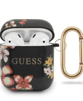 Guess 4G Shiny Flower Case voor Apple Airpods 1 & 2 - Design N.4