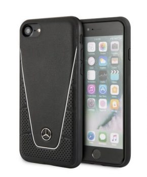 Mercedes back hard case voor iPhone 7/8/SE 2020 - zwart