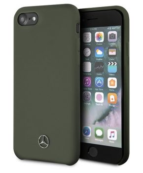 Mercedes-Benz Silicone Case - Apple iPhone 7/8/SE (2020) - Groen