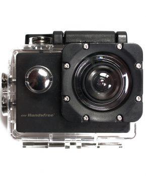 Mr. Handsfree Full HD Sportscam ABS/PC zwart 18-delig