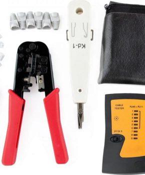 Ethernet Network Toolkit - Crimping Toolkit - LAN RJ45 RJ11