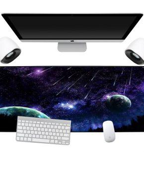 Waterbestendige muismat XXL - Galaxy - 90cm x 40cm