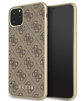 Guess  iPhone 11 Pro Max  hardcase hoesje- bruin
