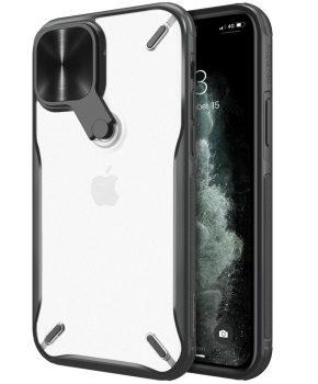 Nillkin Cyclops Case - voor iPhone 12 Pro / iPhone 12 - zwart