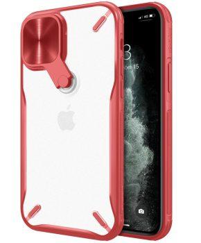 Nillkin Cyclops Case - voor iPhone 12 Pro / iPhone 12 - rood