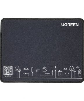 Ugreen Silicone Muismat - 260 x 200 x 2 mm - gaming matje