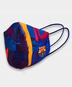 Barcelona mondmasker Junior mixed colours  7 tot 14 jaar